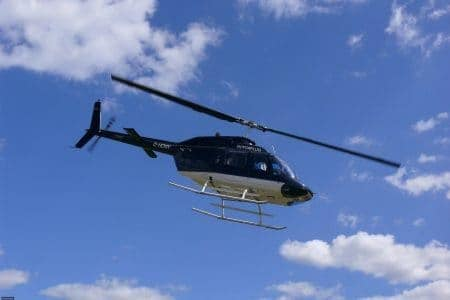 Helikopter von Rotorflug Airservices