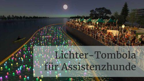 Lichter-Tombola für Assistenzhunde