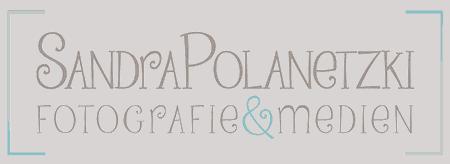 Logo Sandra Polanetzki Fotografie :: Künstlerischer Schriftzug Sandra Polanetzki Fotografie.