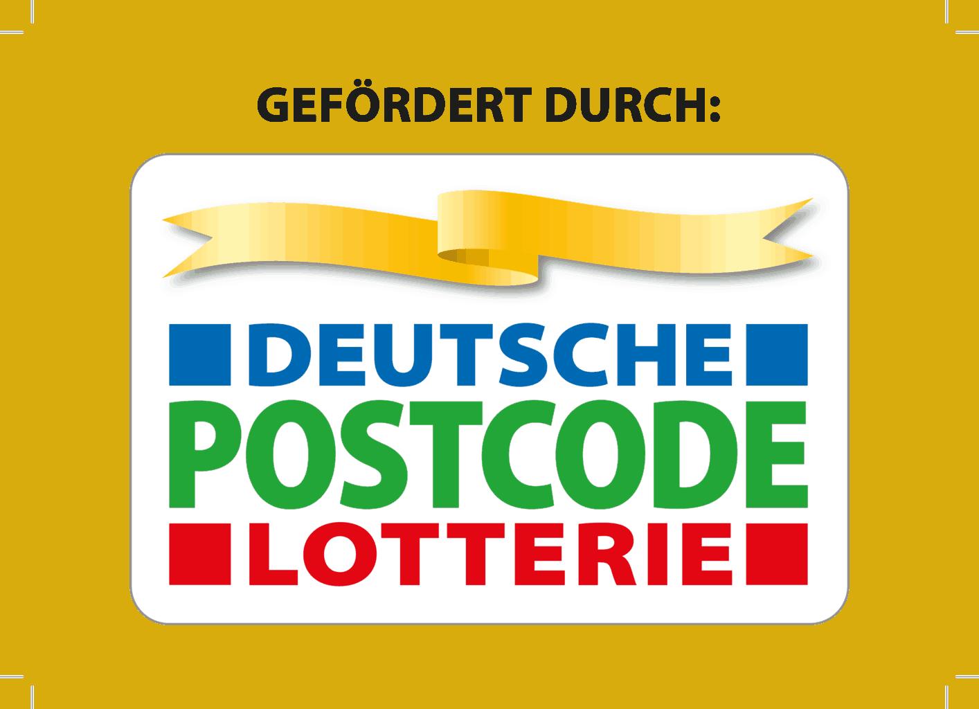 Logo Deutsche Postcode Lotterie :: Logo Deutsche Postcode Lotterie mit Zusatz
