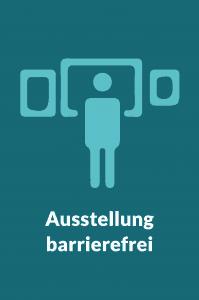 Grafik Ausstellung barrierefrei