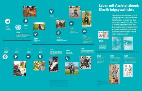 Grafik Leben mit Assistenzhund: Eine Erfolgsgeschichte