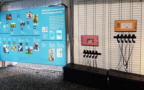 Foto Assistenzhunde Ausstellung