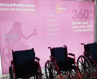 Fotowand Virtual Reality Reise