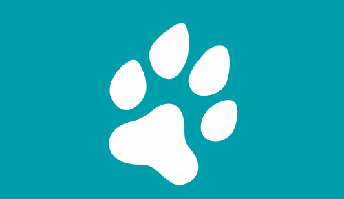 Grafik Hundepfote