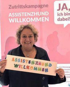 Kerstin Tack, MdB, #AssistenzhundWillkommen