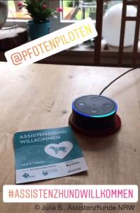 """Alexa und die Zutrittskampagne """"Assistenzhund Willkommen"""""""