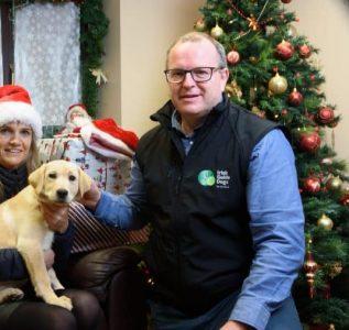Tim O Mahoney, Irish Guide Dogs
