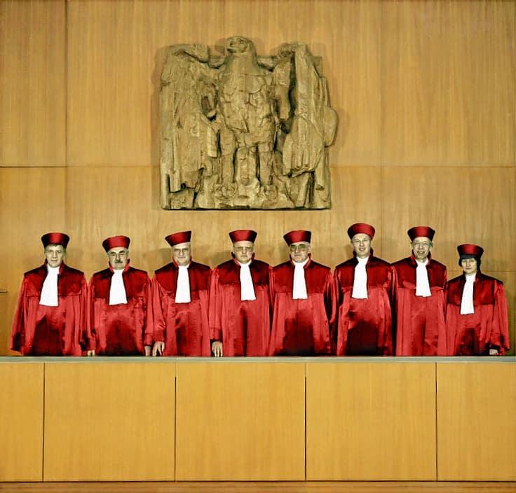 Bild der Richter des Bundesverfassungsgerichts