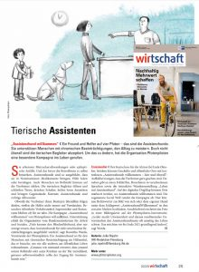 Seitenlanger Beitrag im IHK-Magazin Flensburg