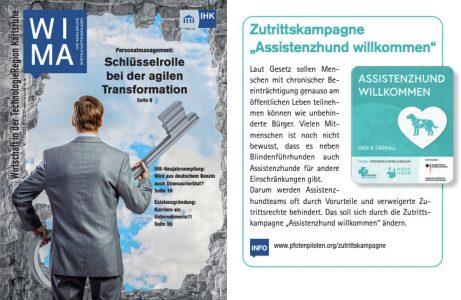 Beitrag im IHK-Magazin Karlsruhe