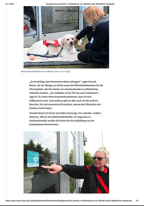 Screenshot des Artikels - klicken Sie auf den Link unten, um den vollständigen Artikel zu lesen.